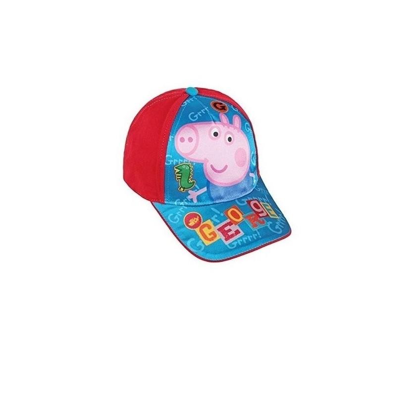PEPPA PIG - George cappello baseball con visiera misura 50-52 regolabile