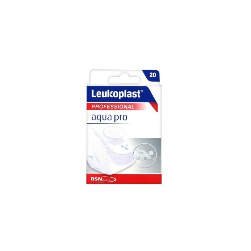BSN MEDICAL - Leukoplast Aqua Pro - 20 cerotti impermeabili assortiti