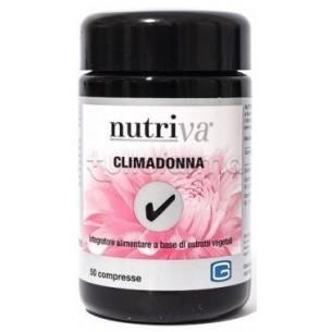 Climadonna - Integratore alimentare per i disturbi legati alla menopausa 50 compresse
