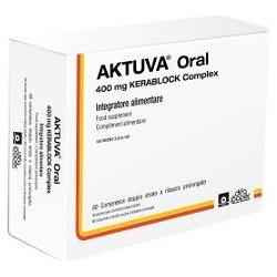 aktuva oral 60 compresse - integratore utile in caso di cheratosi