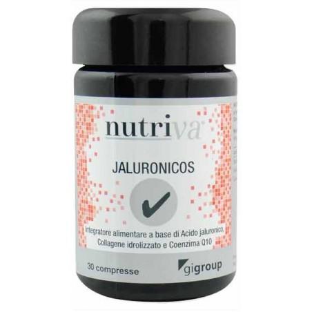 NUTRIVA - Jaluronicos - integratore alimentare per il benessere della pelle 30 compresse