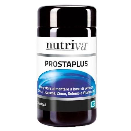 NUTRIVA - Prostaplus - integratore alimentare per la prostata 30 capsule