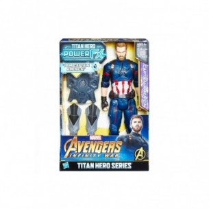 Avengers Capitan America Titan Hero Power FX