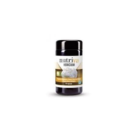 NUTRIVA - Hericium - Integratore alimentare per il benessere gastro-intestinale 60 compresse