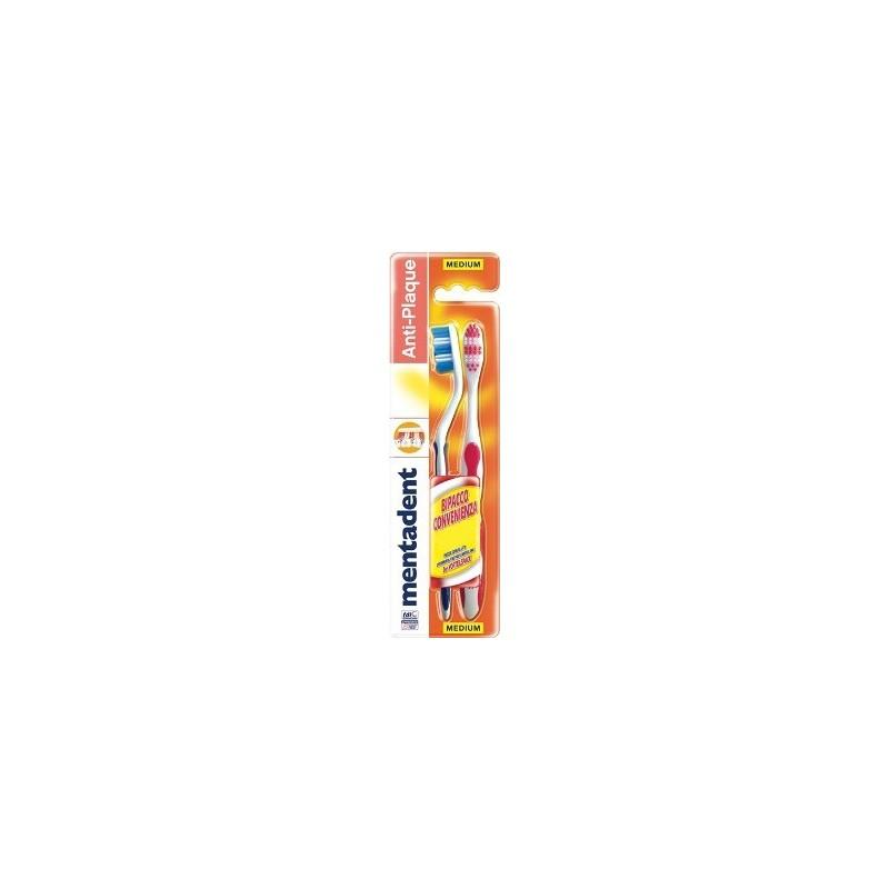 spazzolino da denti plus 1 confezione da 2 spazzolini