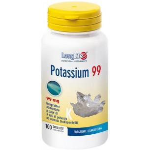 Potassium 99 - integratore alimentare a base di potassio 100 tavolette