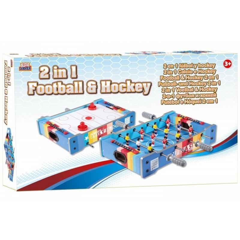 KIDZ CORNER - Calcio ed Hockey 2 in 1