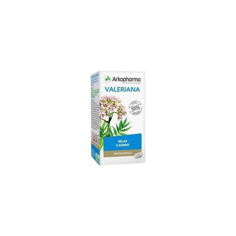 ARKOPHARMA - arkocapsule integratore alimentare valeriana 45 capsule