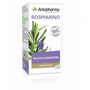 Arkocapsule rosmarino - integratore alimentare per il benessere della digestione 45 capsule