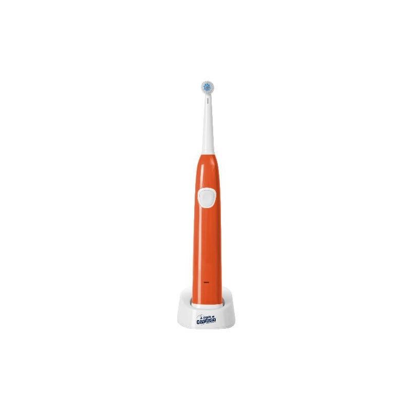 INNOLIVING - pasta del capitano - spazzolino elettrico ricaricabile - arancio