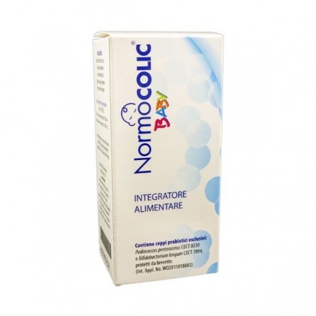 ADL FARMACEUTICI - Normocolic baby - integratore alimentare per le coliche infantili  gocce 8 ml