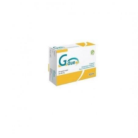 AESCULAPIUS FARMACEUTICI - Gdue - integratore alimentare per il controllo del peso corporeo 30 capsule