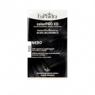 ColorPRO XD - colorazione permanente con acido jaluronico 100 nero