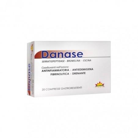 MC STONE ITALIA - Danase - Integratore alimentare ad azione antinfiammatoria 20 compresse