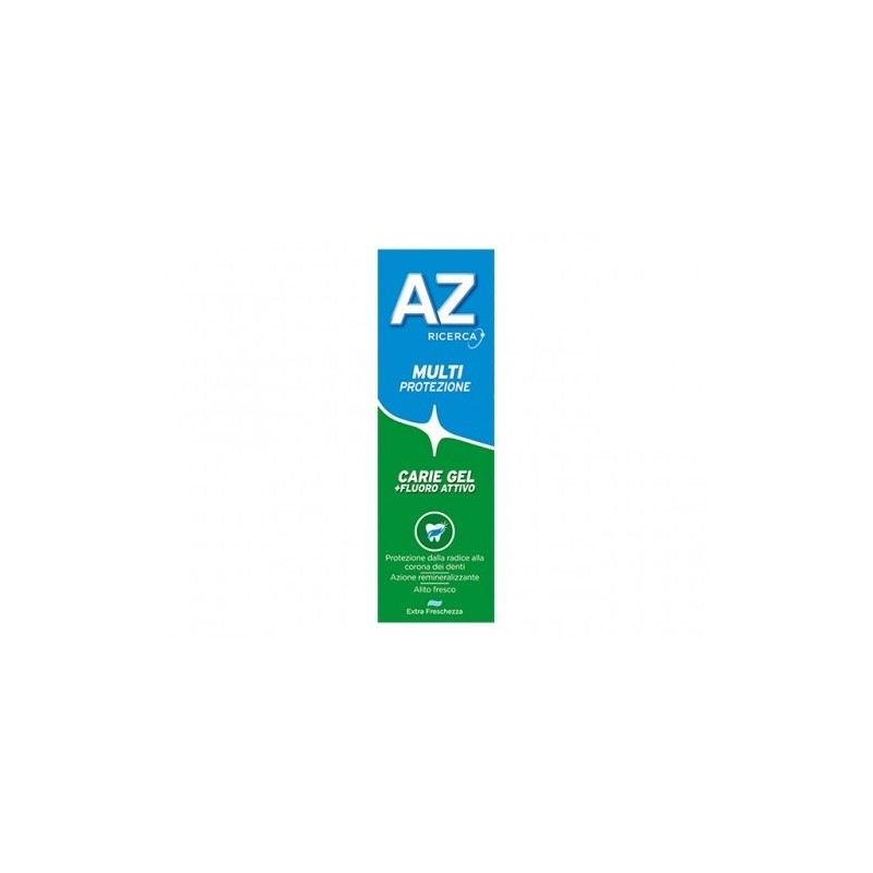 Az - dentifricio protezione carie gel verde 75 ml