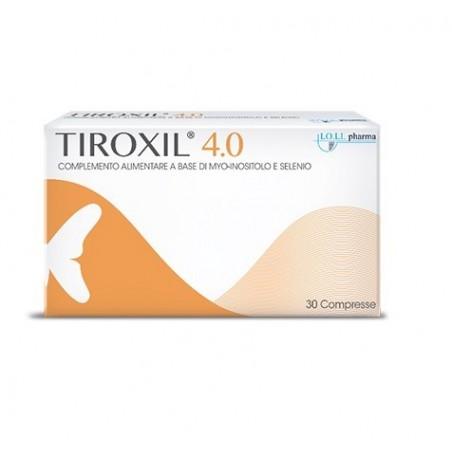 Lo.li. Pharma - Tiroxil 4.0 - Integratore alimentare utile alla normale funzione tiroidea 30 compresse