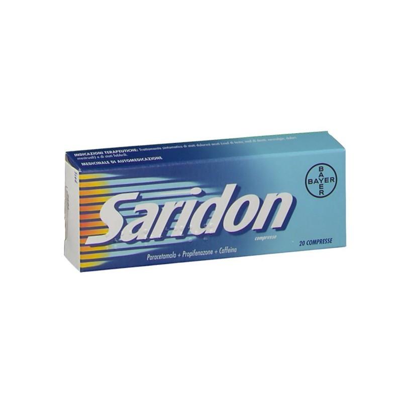 Bayer - Saridon - analgesico antipiretico 20 compresse