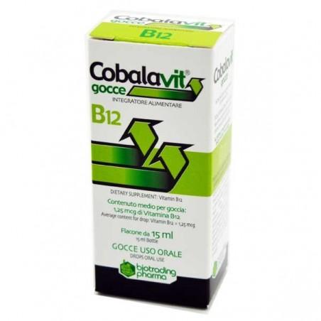 BIOTRADING - Cobalavit - integratore alimentare per carenza vitamina B12 - gocce 15 ml
