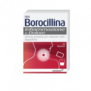 Neoborocillina infiammazione e dolore - soluzione orale 12 bustine