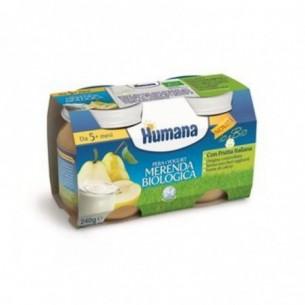 Merenda Biologica gusto Pera Yogurt 2x120g