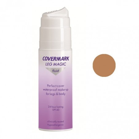 Covermark - Leg Magic - Fondotinta fluido per gambe Spf 40 n.65