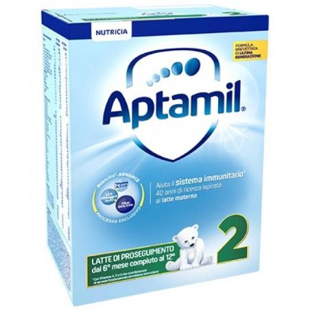 Aptamil - 2 - latte in polvere 600g