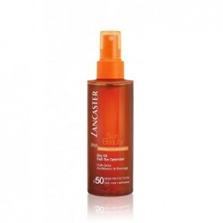 sun beauty dry oil fast tan optimizer olio acceleratore di abbronzatura spf50 150 ml