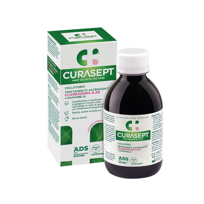 CURADEN HEALTHCARE - Curasept ADS - collutorio trattamento astringente 200 ml
