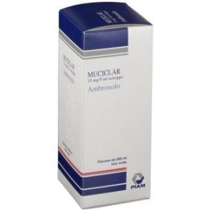 Muciclar 15mg/5ml 200 ml - Sciroppo mucolitico