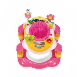 girello per bambini giocagiro 3 in 1 rosa