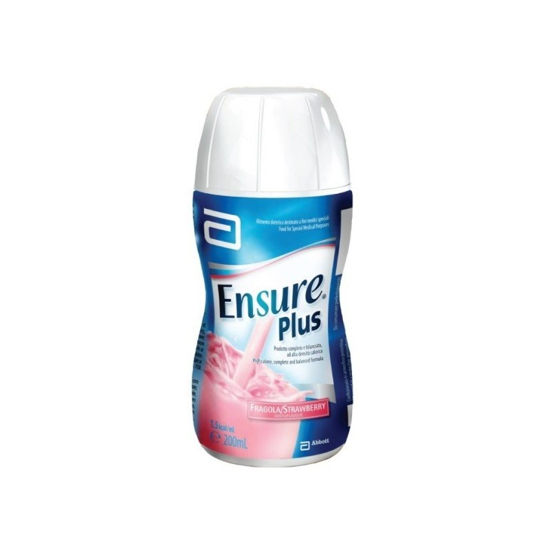 ABBOTT - Ensure Plus gusto fragola 4x200 ml