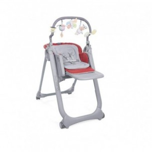 Polly Magic Relax - Seggiolone pappa Scarlet