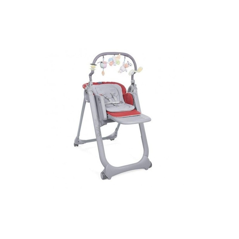 Chicco - Polly Magic Relax - Seggiolone pappa Scarlet