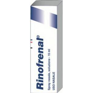 Rinofrenal flacone 15 ml - spray nasale per riniti allergiche stagionali e perenni
