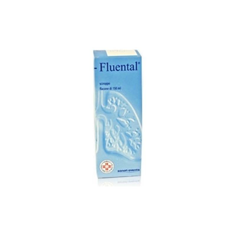 Sanofi - Fluental 12,8 mg/ml + 8 mg/ml - sciroppo per apparato respiratorio 150 ml
