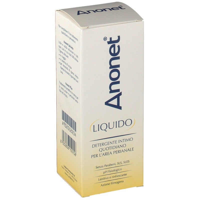 UNIDERM FARMACEUTICI - anonet - liquido detergente intimo 150 ml