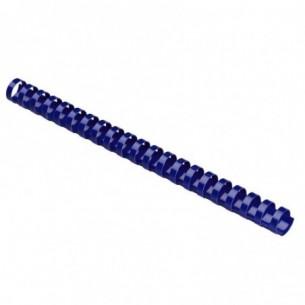 Spirali 19 mm A4 21 Anelli confezione 100 pezzi colore Blu