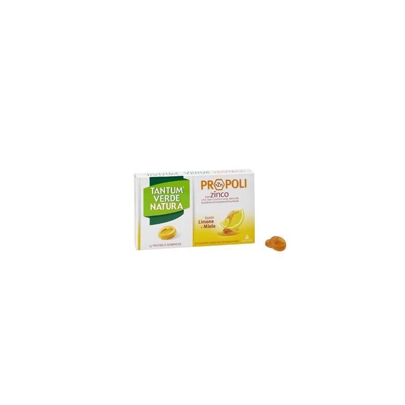 Angelini - Tantum Verde Natura 15 Pastiglie Limone e Miele