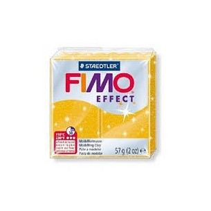 fimo effect - Pasta modellabile termoindurente n.112 glitter colour gold