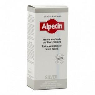 Alpecin Silver - Tonico Minerale contro i capelli grigi  200 ml