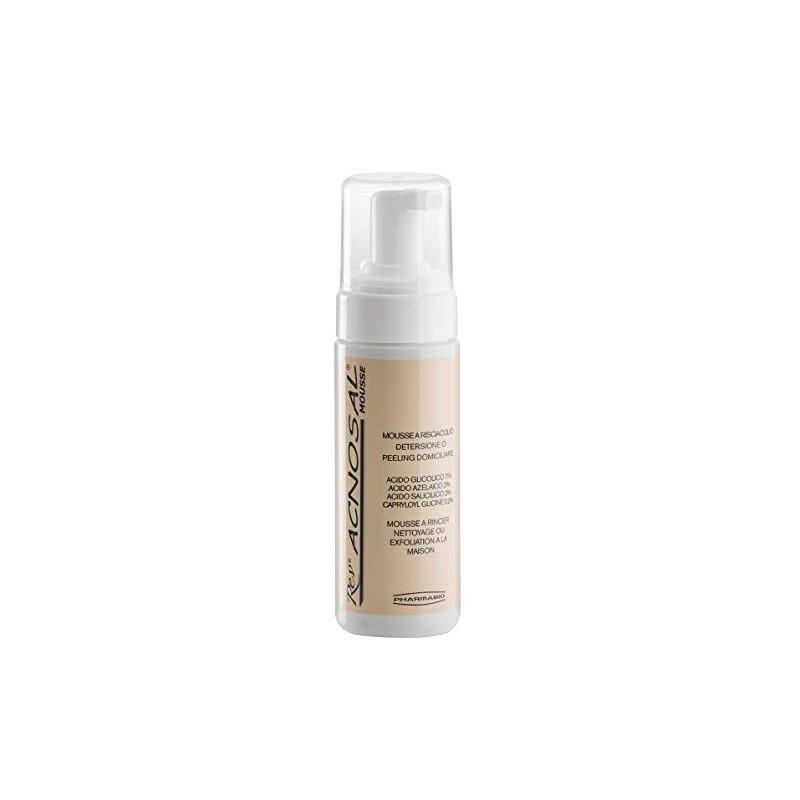 REV PHARMABIO - Rev Acnosal - Mousse detergente per il trattamento dell'acne 125 ml