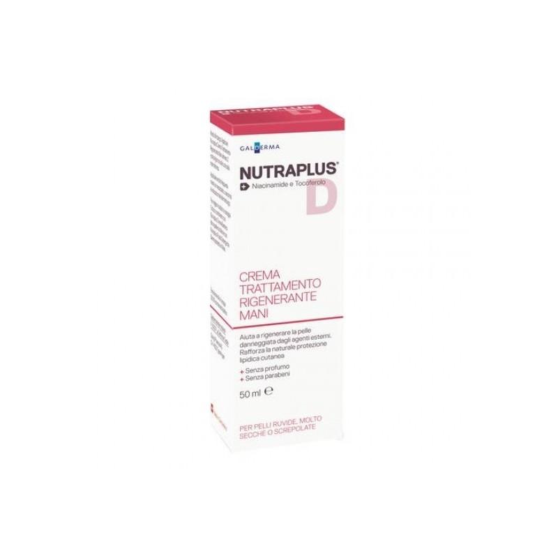 GALDERMA - Nutraplus d - Crema Trattamento Rigenerante Mani - 50 ml