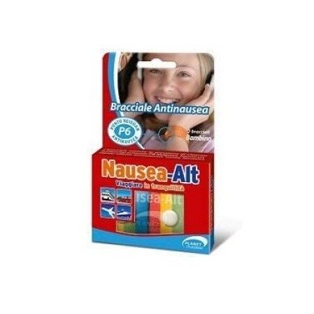 PLANET PHARMA - Nausea Alt - Bracciale Antinausea per Bambini