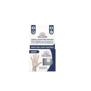 P6 Nausea Control - Sea Band Braccialetti Anti Nausea per Adulti