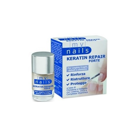MY NAILS - Keratin Repair Forte - trattamento per unghie fragili 10 ml