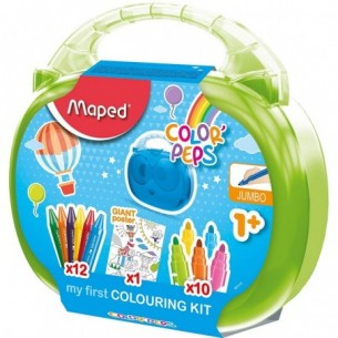 Color' s Peps My First Colouring activity case - kit da disegno