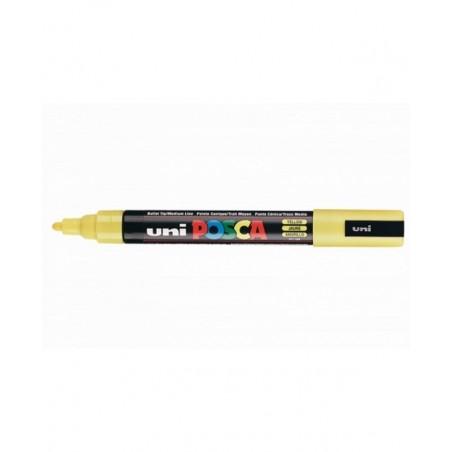 OSAMA - Uni Posca - 12 marcatori punta spessa larghezza tratto 18 - 25 mm colore giallo