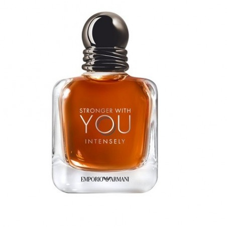GIORGIO ARMANI - Emporio Armani - Stronger With You Intensely eau de parfum uomo 50 ml vapo