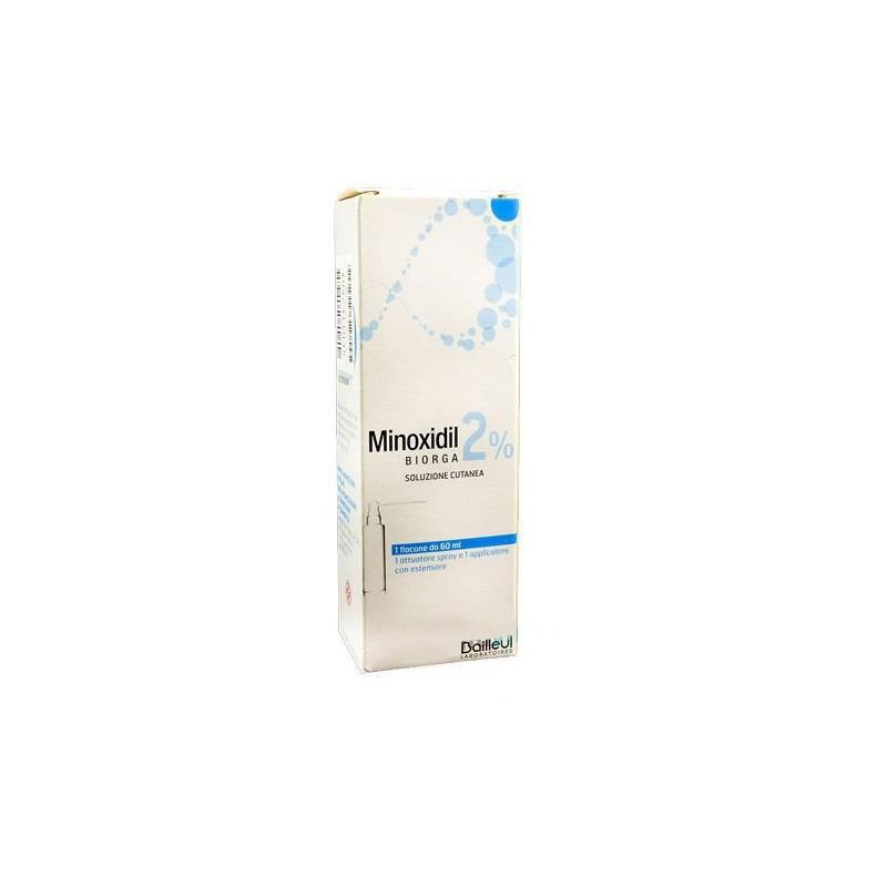 BIORGA - Minoxidil 2% soluzione cutanea 60 ml