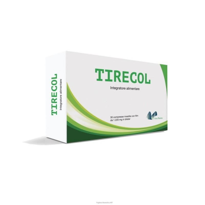 FERA PHARMA - Tirecol 30 compresse - integratore per la funzionalità della tiroide